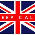Keep Calm UK Flag by FlagCity