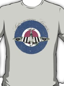 Vintage Look Fighter Plane Supermarine Spitfire T-Shirt