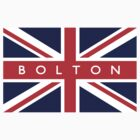 Bolton UK Flag by FlagCity
