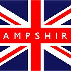 Hampshire UK Flag	 by FlagCity