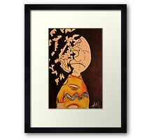 The Disillusionment of Childhood. Framed Print