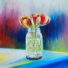 Mason Jar Flowers by Heather Schuer