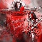 David Lee Roth and Eddie Van Halen Jump by Goodaboom