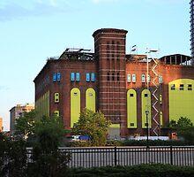 Old H&M Powerhouse Jersey City NJ by pmarella