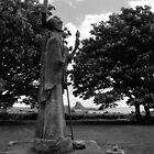 St Aidan of Lindisfarne by Kevin Allan