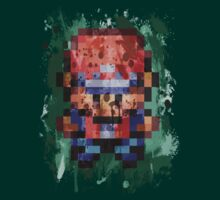 16-Bit Red Splatter by Colossal