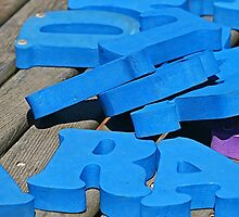 Blue Letters by Monnie Ryan