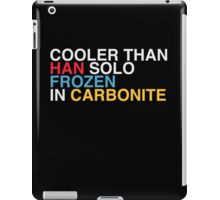 COOL LIKE CARBONITE iPad Case/Skin