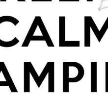 Keep Calm Vampire Diaries Is On Sticker