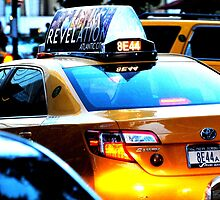 New York Taxi Cab at Midtown Manhattan, NY by WineEventsUSA