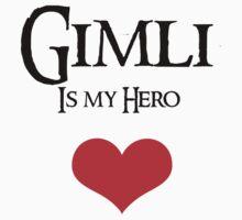 Gimli is my hero by Andesharnais