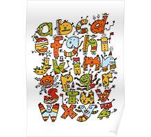Little Alphabet Monsters Poster