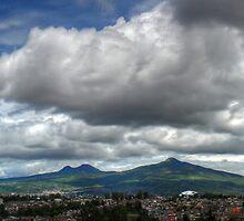 ©HCS Rain Season Cloudscape And Hill by OmarHernandez