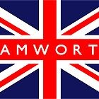 Tamworth UK Flag			 by FlagCity