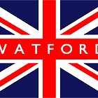 Watford UK Flag			 by FlagCity