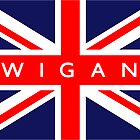 Wigan UK Flag			 by FlagCity