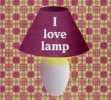I Love Lamp by lisa86f