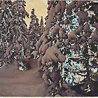 Snowy Woods IV by taudalpoi