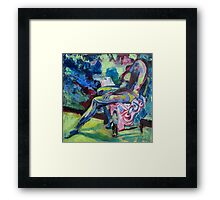 figure drawing study 2 Framed Print