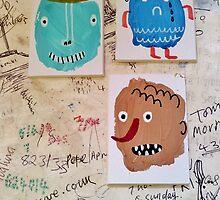 Yesterdays palettes todays doodles. by gemmaausten