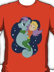 Aquaman and His Trusty Steed T-Shirt