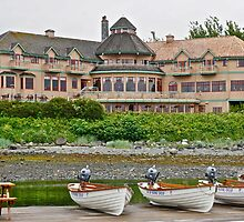 Painter's Lodge, Campbell River, BC by David Davies