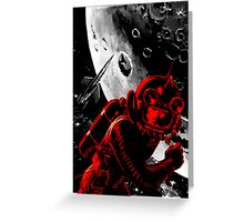 Reds in Space Greeting Card