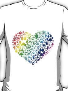 Paws of the Heart T-Shirt