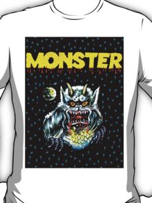 Simple Monster in the Night T-Shirt