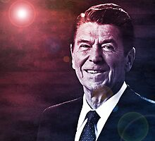 President Ronald Reagan by morningdance
