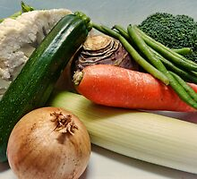 Winter Soup Veg by Sharon Brown