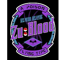 Zu Blood Photographic Print