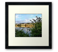 My Home Town Framed Print