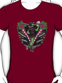 Victoria Roller Derby League Tee T-Shirt