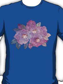 Rose Buds (Pastel) T-Shirt