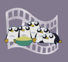 Movie Night for Penguins  Kids Clothes