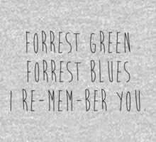 Forrest Green Forrest Blue by aahdesigns
