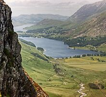 Buttermere From The Ascent Of Haystacks by Jamie  Green