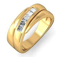 Mens Gold Rings Low Price by bablu86