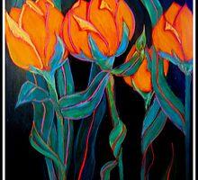 TULIPS FOR SHEILA by Linda Arthurs
