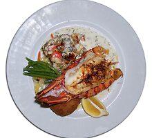 Lobster Dinner by Phil Perkins