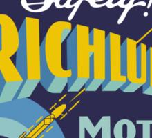Richlube Vintage Motor Oil Sticker