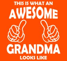 Awesome Grandma T Shirts, This is what an Awesome Grandma by cerenimo