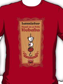 Big Bob's BBQ - Lannister - head on a pole Kebabs T-Shirt