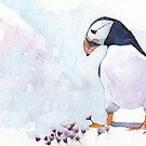 Pink Puffin by Ruth Nolan