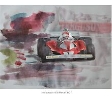 Niki Lauda 1976 Ferrari 312T by Lightrace