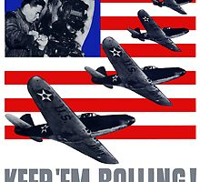 Planes -- Keep 'Em Rolling! by warishellstore