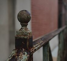 Rusted Railing by Dominic Perry