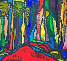 Abstract Forest by Ming  Myaskovsky