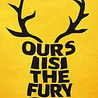 House Baratheon, Ours Is The Fury by Jack Howse